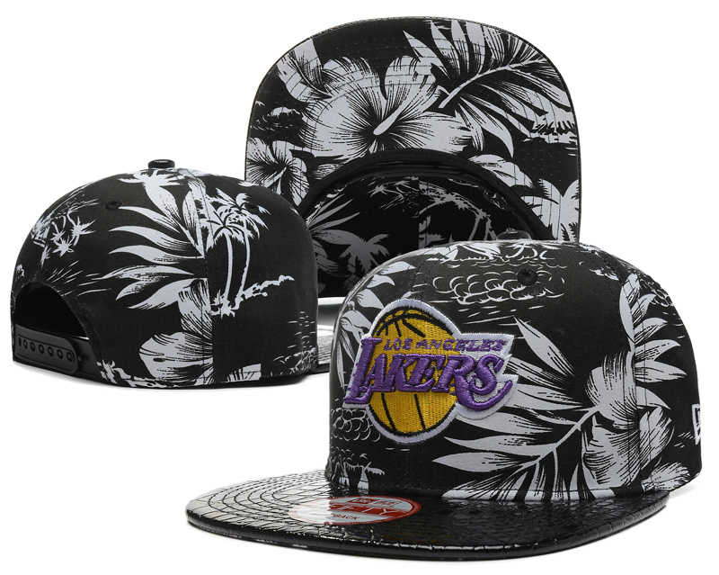 Los Angeles Lakers Snapback Hat SD